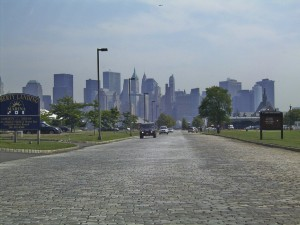 Viewing Manhattan from Liberty State Park