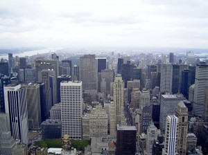 View to Central Park
