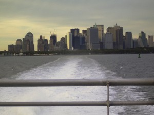 Leaving New York City...